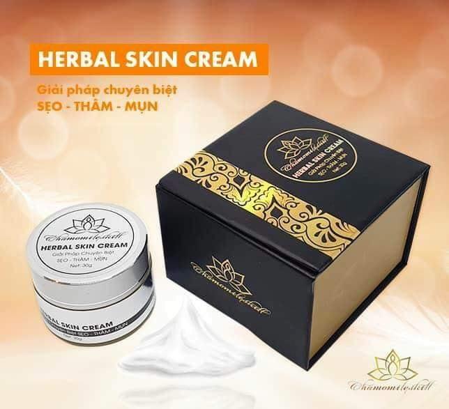 Kem trị sẹo Herbal Skin Cream Chamomileskill