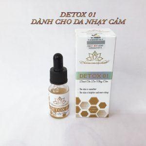 Thải độc da cho da nhạy cảm Chamomileskill - Detox 01