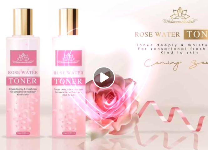 Review và cách dùng Nước hoa hồng Toner Chamomileskill